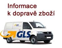 Dopravné prostřednictvím společnosti GLS