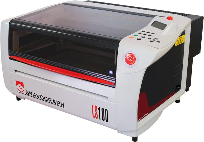 Laserový gravírovací stroj