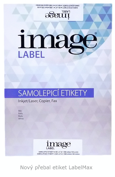 Nový přebal etiket LabelMax